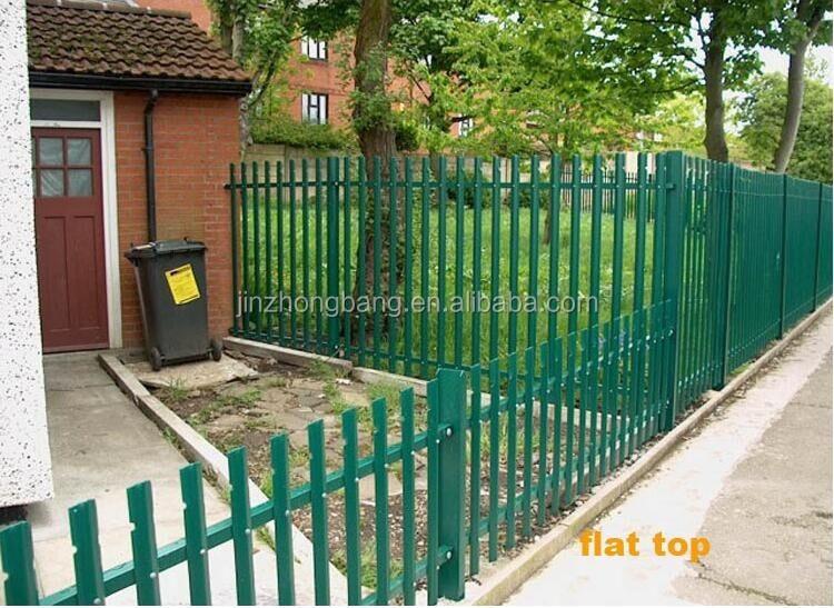 Fentech white decorative picket fence pvc vinyl