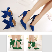lx10066a pointe fashion high heels women dress shoes jing pin large size shoes