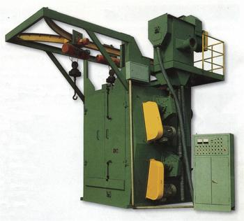 Q3710 Hook shot blasting machine for Rust removal