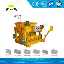 small industrial project QMT6-25 small scale concrete block making machine