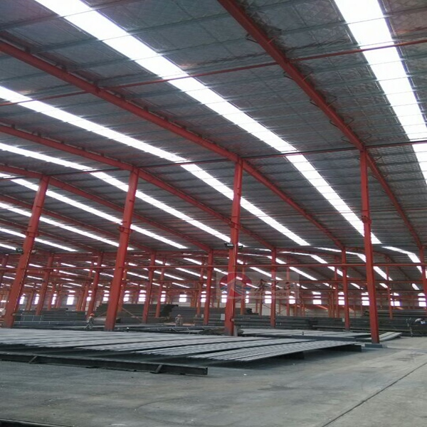 Cheap prefab commercial industrial auto parts warehouse