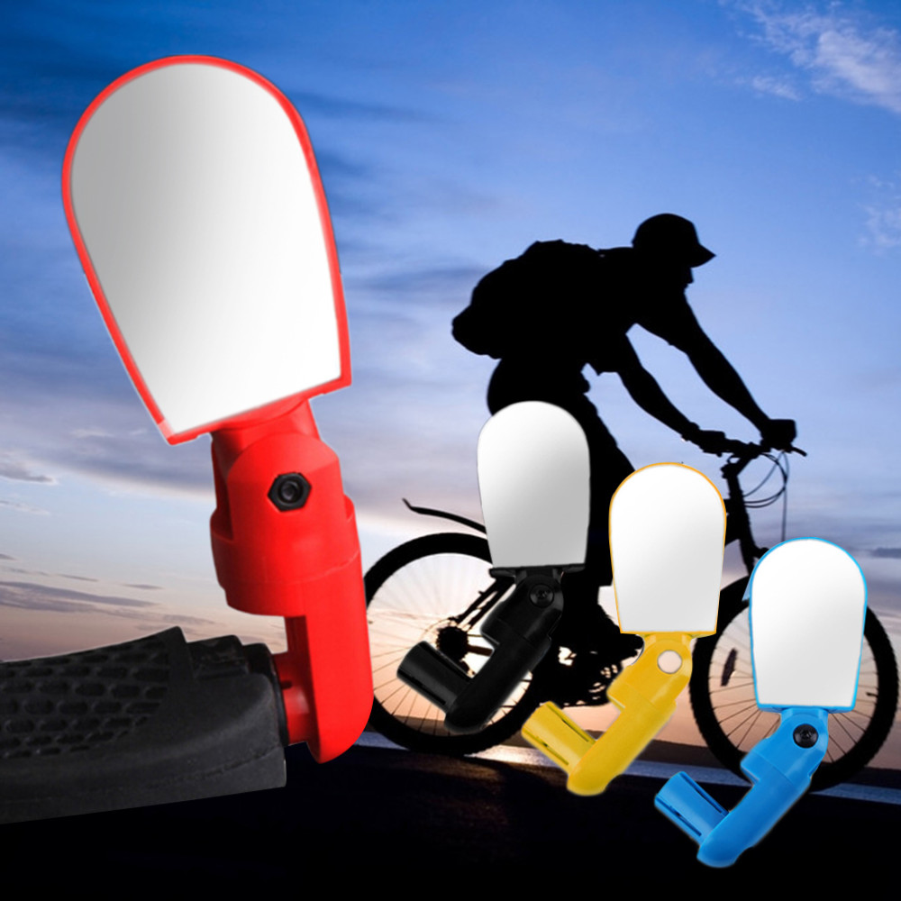 New Mini Rotate Flexible Bike Bicycle <strong>Cycling</strong> Rearview Handlebar Mirror
