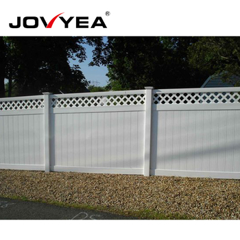 Easy To Install Cheap Plastic Vinyl Fence Privacy Garden