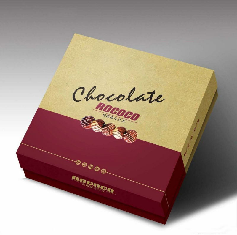 Factory Price Beautiful Box For Chocolate Chocolate Packaging Box