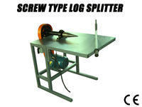 newest screw log splitter for sale