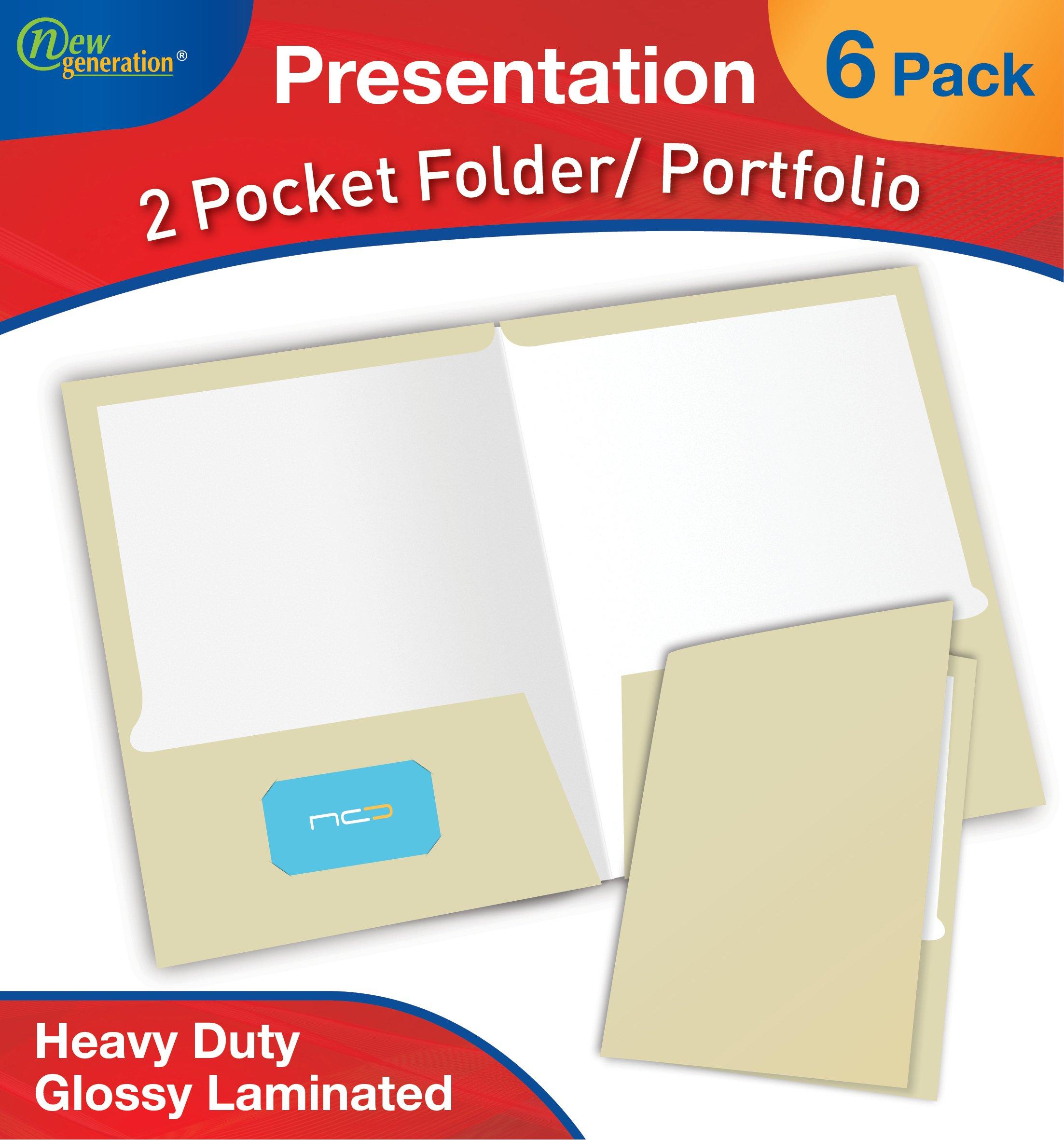 Buy new generation ivory 2 pocket folder durable heavy duty uv new generation ivory 2 pocket folder durable heavy duty uv glossy laminated business reheart Choice Image