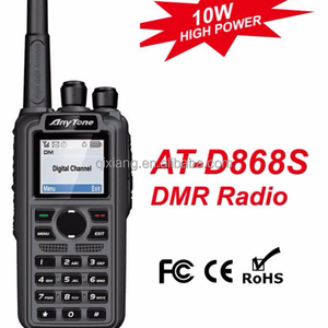 AT-D868S DMR Handheld UHF 400-480 two way radio with Color LCD