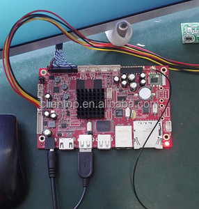 Media player all-in-one machine board FHD Android Decode Board