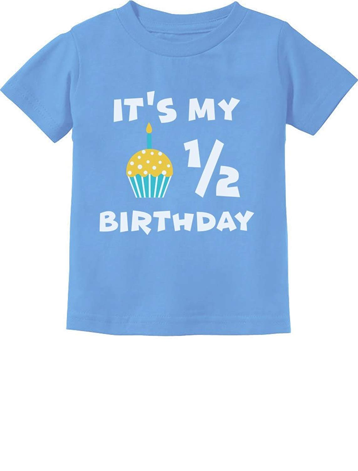 Get Quotations Its My Half Birthday Outfit For Baby 1 2 Gift Infant Kids T