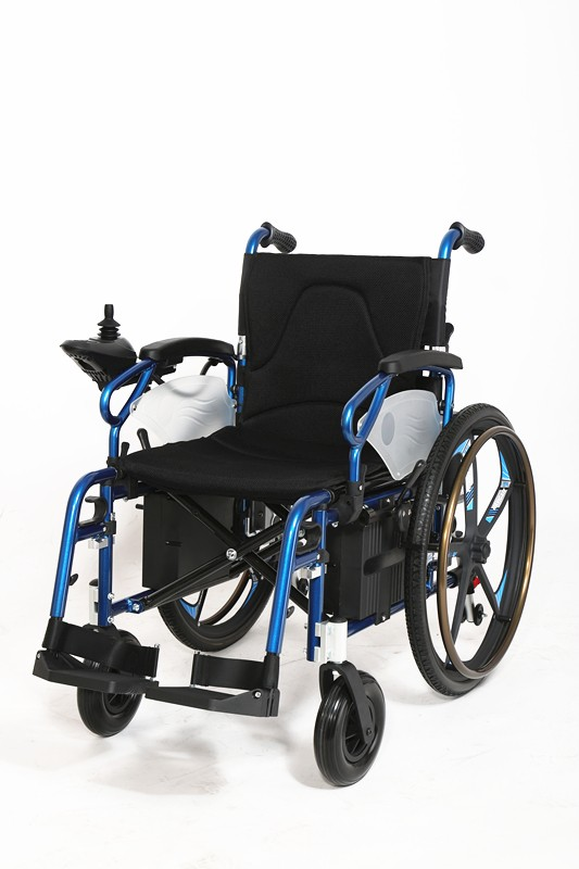 Luxury series top configuration magnesium alloy foldable Luxury wheelchairs