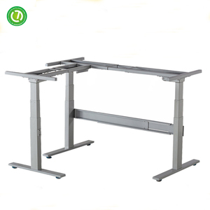 expandable round table electric height adjustable working table leg dining table made in malaysia