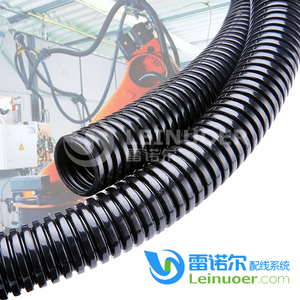 Durable hose non-cracking pa6 corrugated conduit split pipe