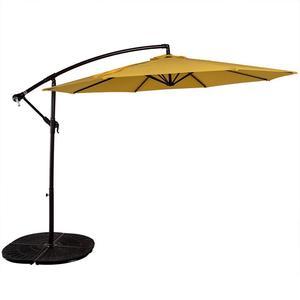 Outdoor garden patio cantilever sun umbrella parasol