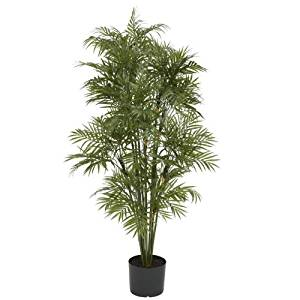 Wholesale 4Ft Plastic Parlour Palm Tree, [Decor, Silk Flowers]