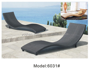 factory direct wholesale sunbed outdoor furniture chaise lounger