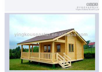 New design cottage wooden hut buy wooden hut new cottage for Small hut plans
