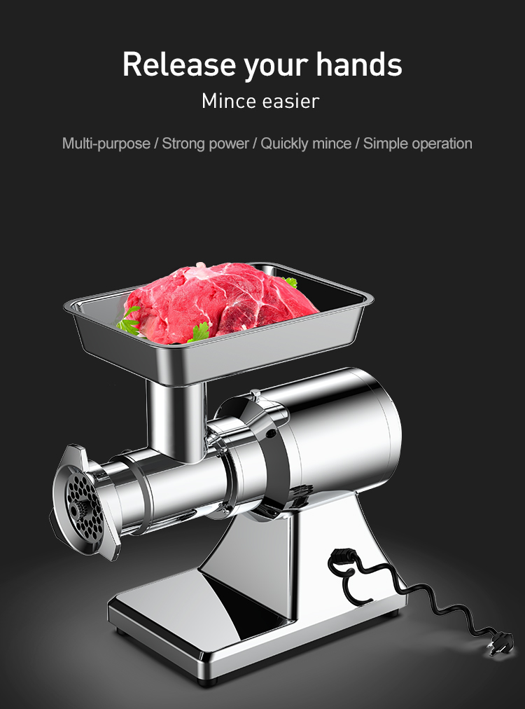 electric industrial commercial mini meat mincer