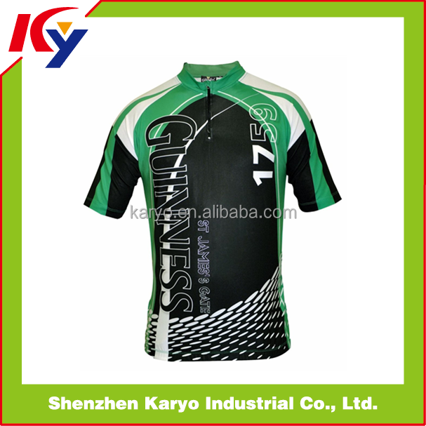 Karyo Apparel Popular Sublimation Cycling Bike Tops / Jersey Cycling / Design Your Own Cycling Jersey