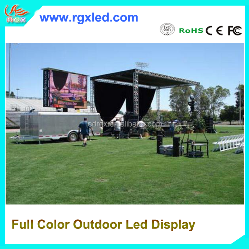 RGX outdoor P6.67 video rental led display advertising board illuminated dance floor screen/panel/ interactive dance floor