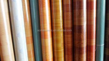 indoor wood look roll pvc vinyl flooring linoleum flooring - Vinyl Flooring Rolls
