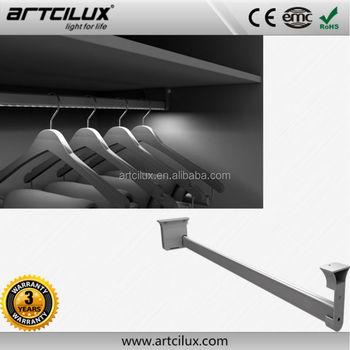 Led Closet Light Fixture Hanger Rod Led Wardrobe Rail Lighting 12v