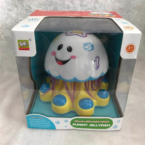 baby toy kid toy Interest Funny shape cute electric music jellyfish toy with sound and music in 2018