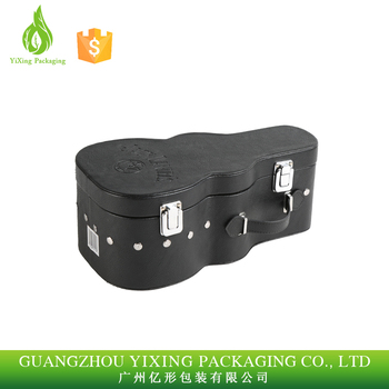Customized Special Designed Leather Wine Carrier Gift Box Luxury Leather Wine Box With Accessories