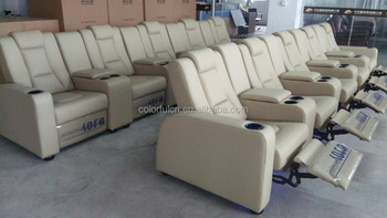 Import Genuine Leather Nitaly Recliner Sofa Ls811