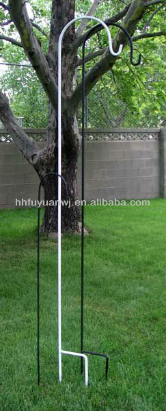Single Metal Garden Decoration Shepherd Hook