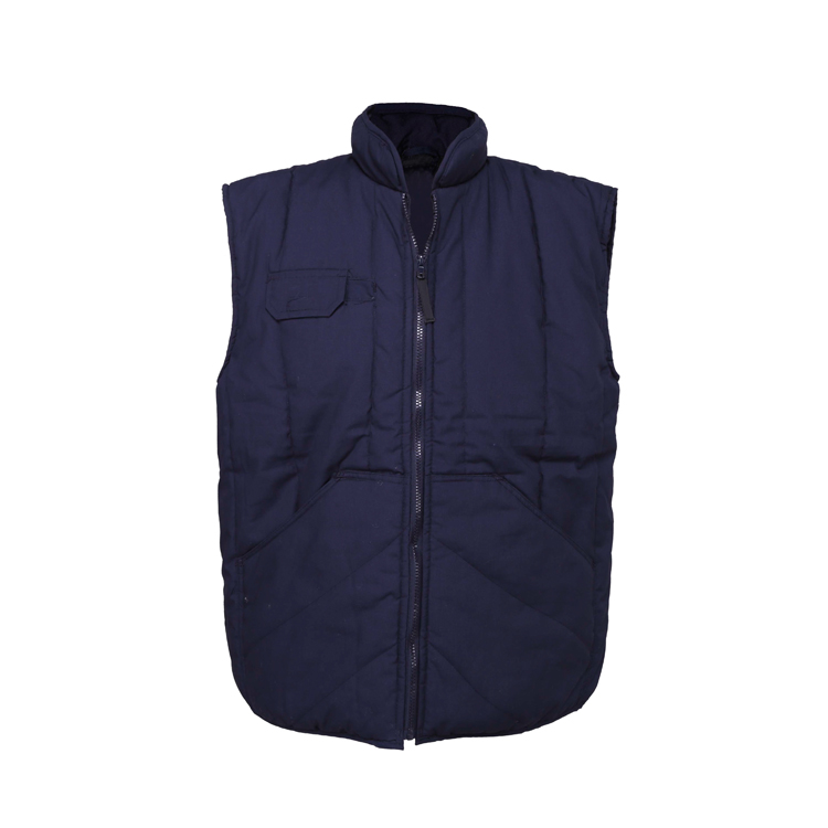 2d46067808cda Plus Size Sleeveless Winter Working Cargo Vest For Man And Woman ...