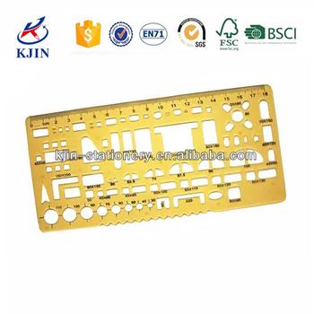 template 20cm plastic letter stencil rulersalphabet ruler