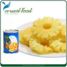 Vietnam Canned Pineapple Slice 2015 High Quality canned Pineapple producer