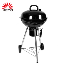 Apple Vormige Ronde 18' Tuin Barbecue Grill Outdoor <span class=keywords><strong>Houtskool</strong></span> 18 <span class=keywords><strong>inch</strong></span> Waterkoker Bbq Grill Met Asvanger