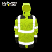 New Product Hi Vis Jacket Winter Wear Waterproof Safety Jacket