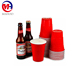 16oz red disposable beer party plastic cups