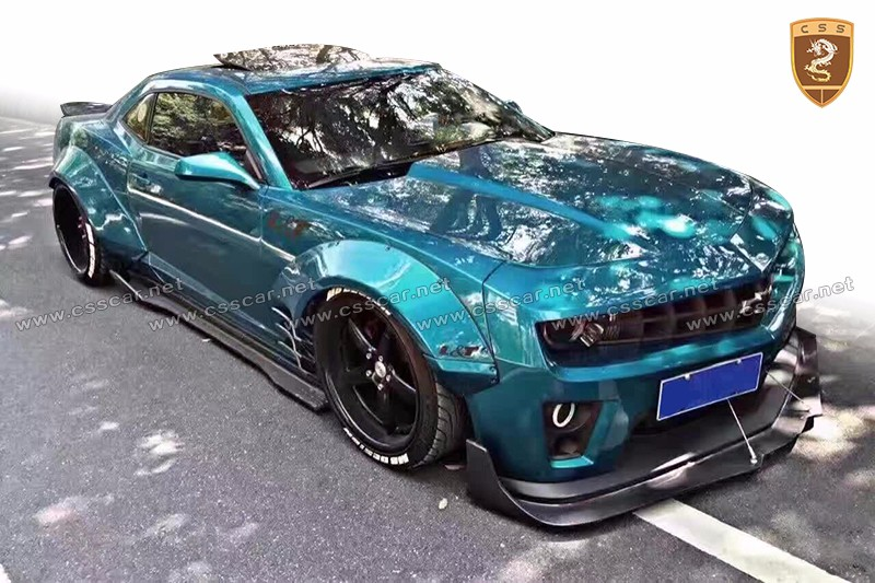 For Chevrolet Camaro Car Upgrade To Wide Body Kit Portion ...