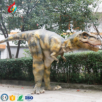 Popular Easy Handle Mechanical Dinosaur Costume For Adults
