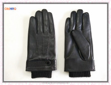 2016 New Winter Leather Touchscreen Gloves for Men