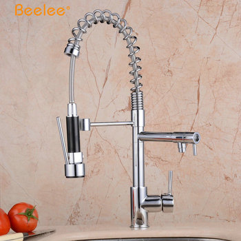 Beelee Professional Spring Pull Down Pre-rinse Professional Kitchen Faucet  - Buy Beelee Professional Kitchen Faucet,Spring Pull Down Pre-rinse Kitchen  ...