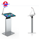 New Year Portable Antique Smart Lectern Digital Podium