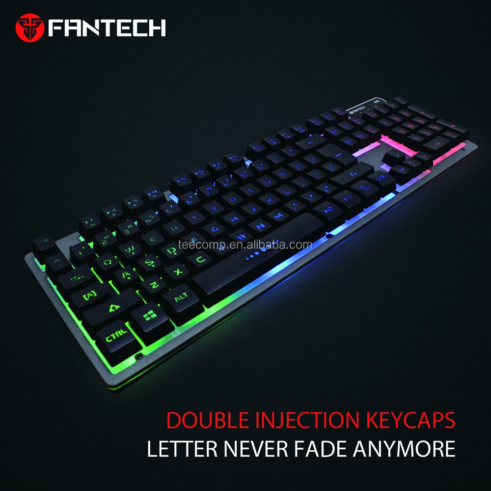 c67af108ff7 Fantech K611 Colorful LED USB Wired Computer Mechanical Gaming Keyboard,  View mechanical keyboard , Fantech Product Details from Guangzhou Trends  Electronic ...