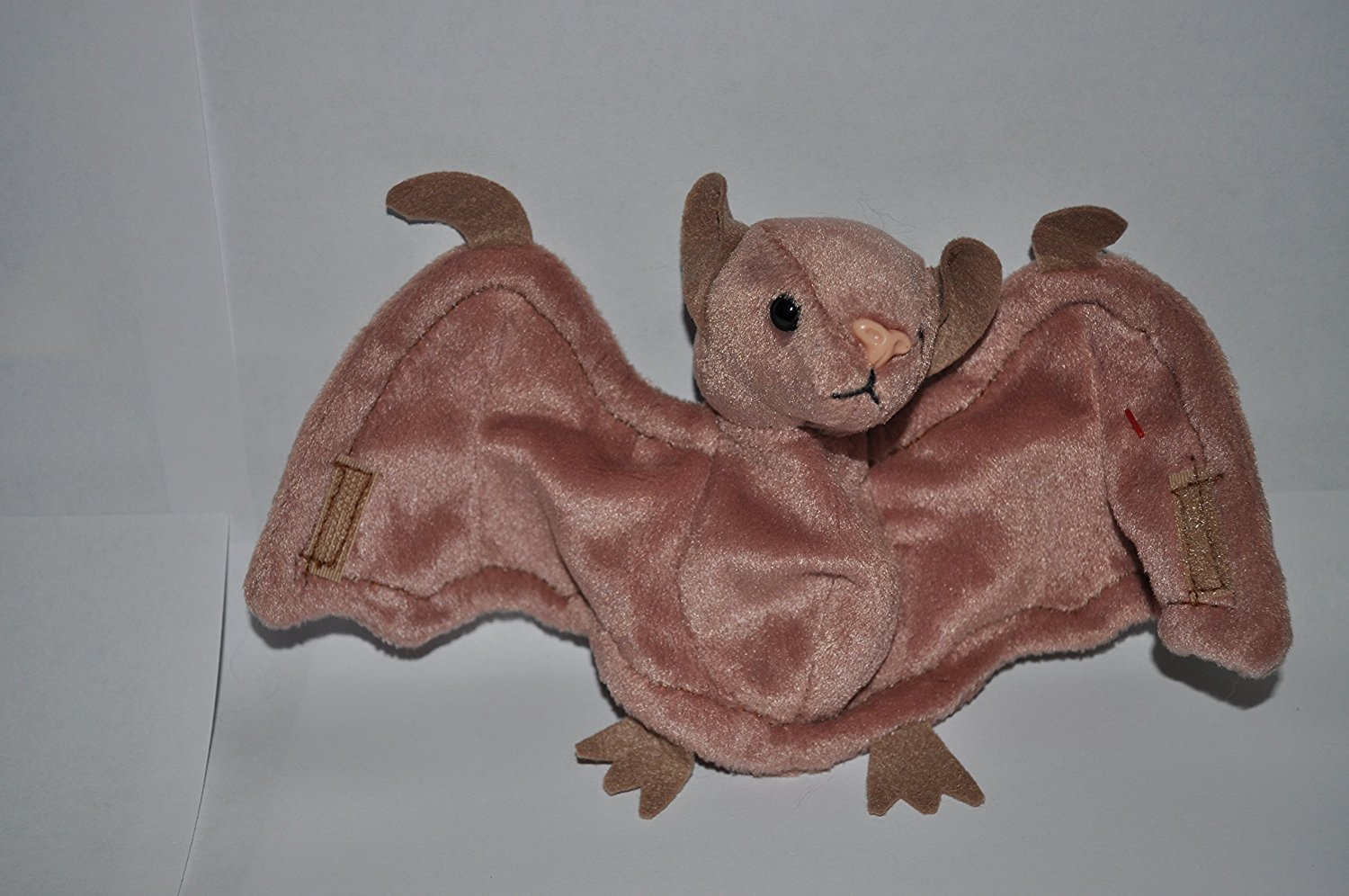 f9780e15494 Get Quotations · Batty the Bat (Brown Version Pink Nose) - Ty Beanie Babies