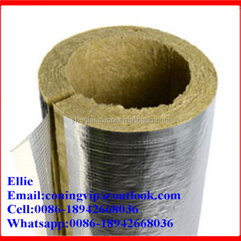 100kg/m3 Rock wool pipe cover