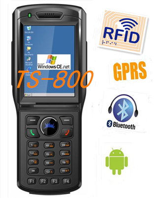 wireless handheld logistic pda TS-800 with rfid reader