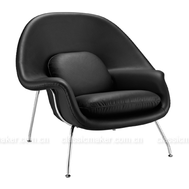 Mass supply inexpensive products scandinavian chair leather furniture modern