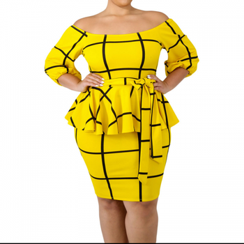 Wholesale New Designs Sexy Plus Size Dress Skirts, Ladies 3XL Plus Size Dress