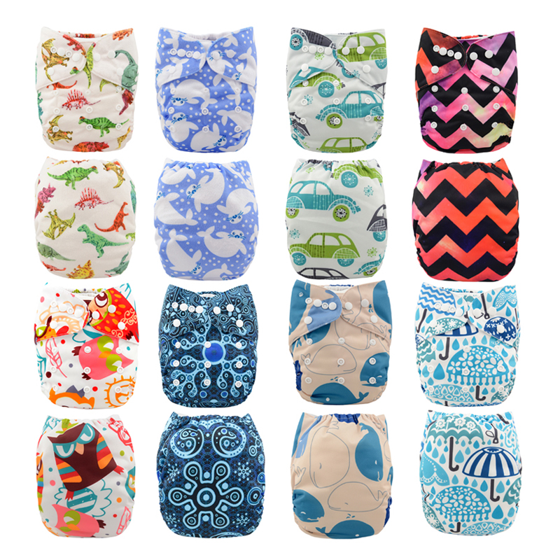 Wow Jinobaby Cloth Diaper Newborn Cloth Diaper Fits All Baby Infant to 35 Pounds with bamboo
