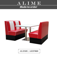 ALIME ARF060 American diner two seater booth set