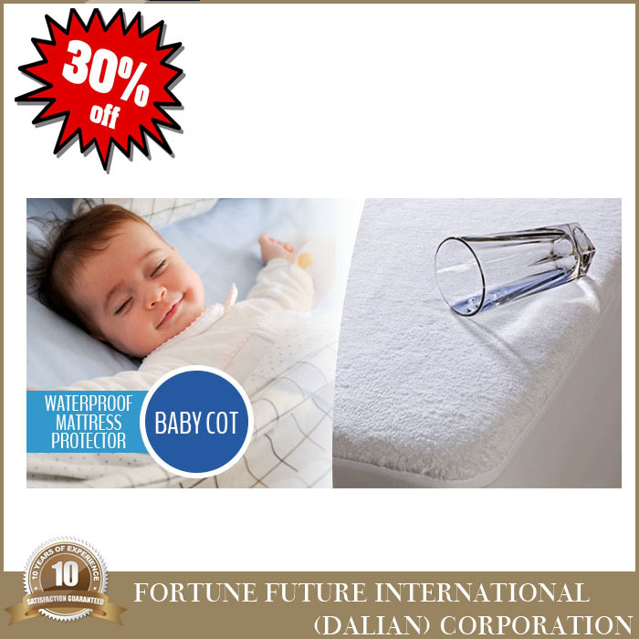 Cheap fitted baby waterproof mattress protector fabric with great price
