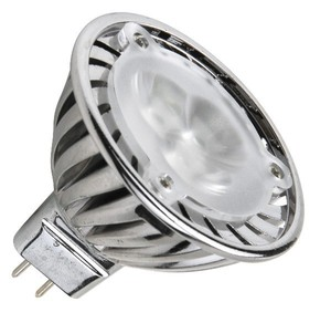 High quality DC12V MR16 3X1W/2W bulbs 220-360Lm 2700K-6500K 3pcs led spotlights